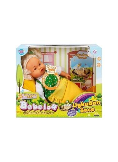 Sunman Bebelou Uykudan Önce Bebeği Masal Anlatan Çirkin Ördek Yavrusu 40 cm Renkli